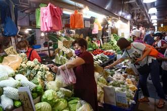 烟花颱風擦邊過 菜價回跌