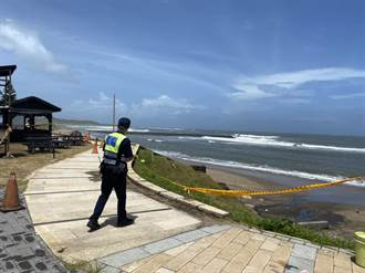 烟花颱風進逼!淡水警加強防颱整備宣導
