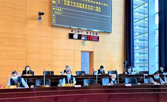 727降二級警戒 室內可容納50人 台中市議會8/3恢復開會
