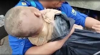 鄭州女嬰被埋一天獲救 母親身亡 罹難時仍保持托舉姿勢