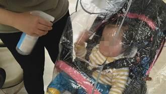 嬰幼兒染疫多無症狀 出現高燒不退恐為重症