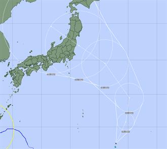 又有新颱風!「尼伯特」將生成 烟花加速晚上風雨最大