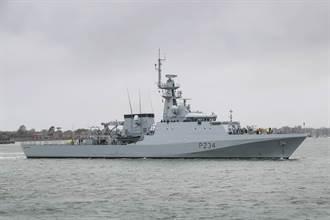 英永久部署2艘軍艦巡航南海 搭配組建近海快速反應部隊