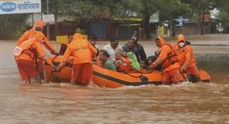豪雨引發土石流 印度西部至少67人喪生