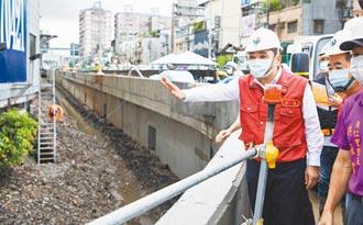 砂包抽水機整備 侯友宜視察防汛