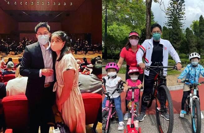 郭晶晶2012年跟霍啟剛結婚,育有3個小孩。(圖/翻攝自fok_kenneth IG)