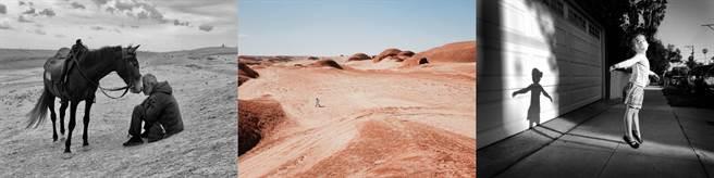 左至右分別是2021年IPPAWARDS一等獎、二等獎、三等獎(年度第一名至第三名)的作品,分別Sharan Shetty透過iPhone X拍攝的作品「黏接」、中國大陸攝影師劉丹透過iPhone 11 Pro Max拍攝的作品「火星漫步」以及Jeff Rayner透過iPhone X拍攝的作品「空中側行」。(摘自IPPAWARDS官網)