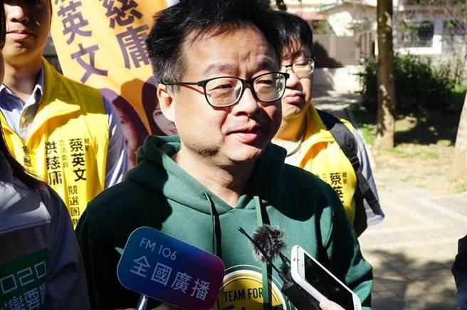 前民進黨祕書長羅文嘉。(資料照,王文吉攝)