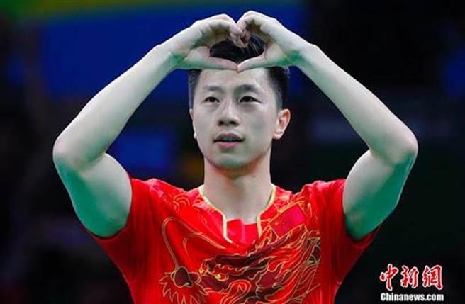 大陸乒乓球名將馬龍目前有3面奧運金牌。(中新社資料照)
