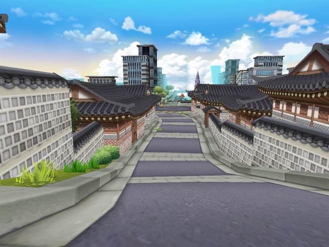 《跑跑卡丁車》主題新賽道「繁華的首爾」