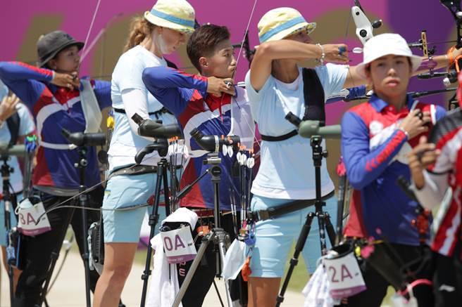 台灣運彩針對中華隊女子射箭、男子射箭、羽球王子維、桌球開盤,期盼中華健兒爭金奪銀。(季志翔攝)