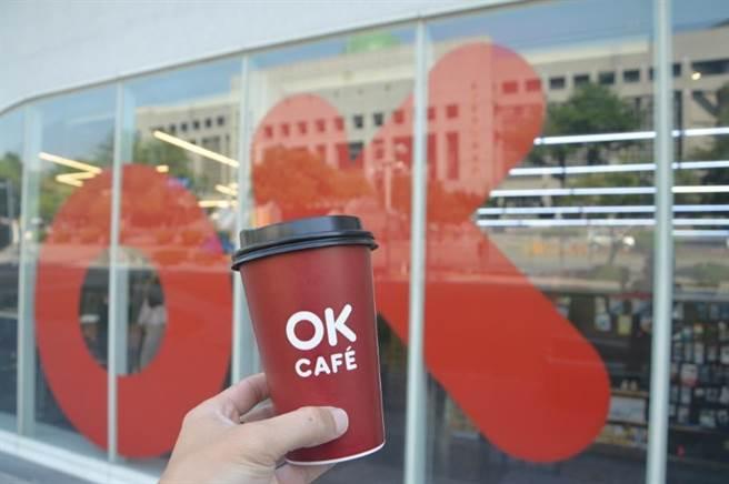 消費者於7月27日至30日至全台830間OK門市享莊園級咖啡買2送2。(OK提供)