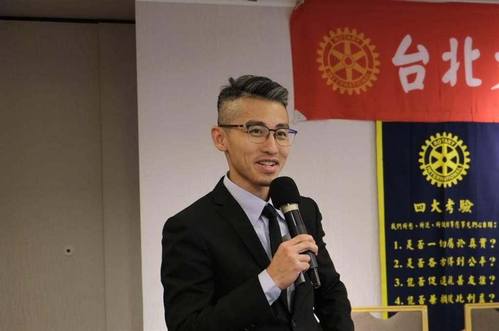 台北市不動產估價師公會理事長鐘少佑。(鐘少佑提供)