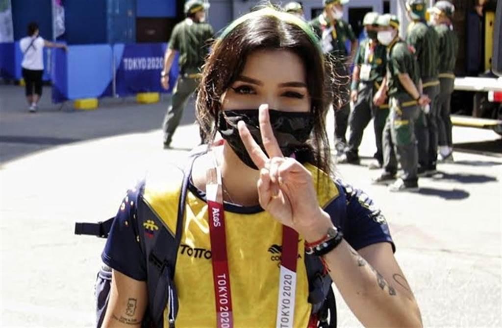 21歲射箭美少女Valentina Acosta Giraldo。(取自Valentina Acosta Giraldo IG)