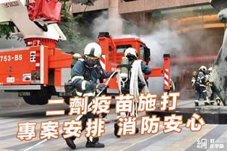 消防員搶不到第二劑快急瘋 藍議員轟:這「綠大咖」已爽打