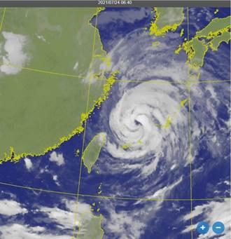 今晨烟花距台最近 北部東北部嚴防豪雨