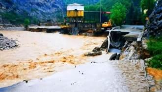 陝西洛南暴雨近7萬人受災 直接經濟損失近71億
