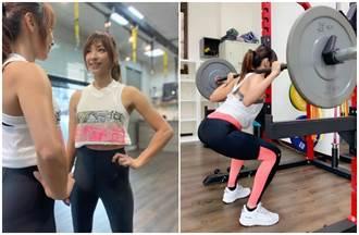 段慧琳不擔心身材變壯 自我訓練「背蹲」最高負重70公斤