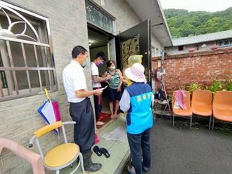 發布土石流警戒 新竹縣4鄉鎮13村里急疏散