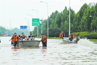 中部戰區奮戰抗洪一線 新鄉鶴壁搶險救災、鄭州善後重建
