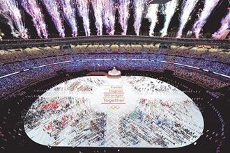 東奧》情同與共盛大開幕 史上第一次全員戴口罩參加 四座大滿貫冠軍大坂直美點燃聖火