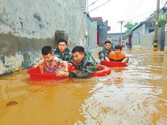 河南暴雨肆虐 已逾400萬人受災