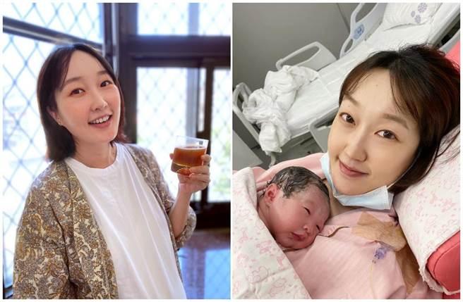 巴鈺開心在臉書分享女生誕生的喜悅。(摘自巴鈺臉書)