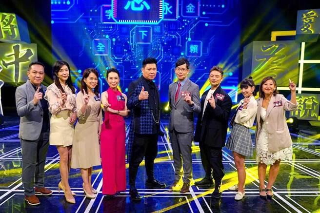 《一字千金妙筆生花風雲榜》本周日播出主播與記者PK賽。(公視提供)
