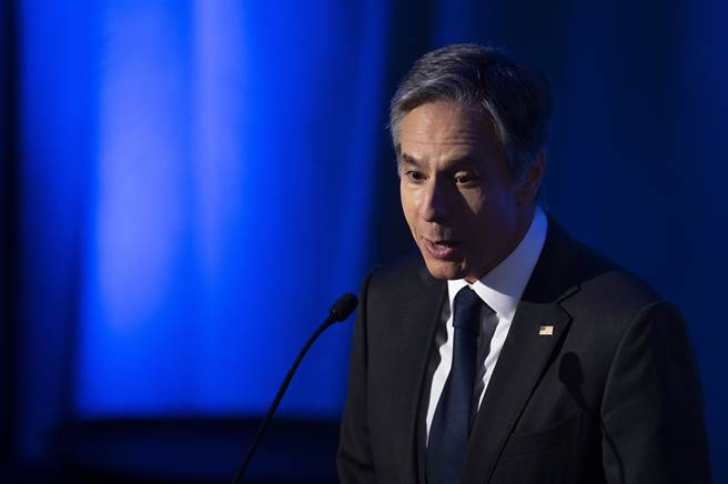 14日致函美國國務卿布林肯(Antony Blinken),呼籲他敦促海地與其他區域國家抵抗中國示好,維持與台灣的邦交。(圖/美聯社)