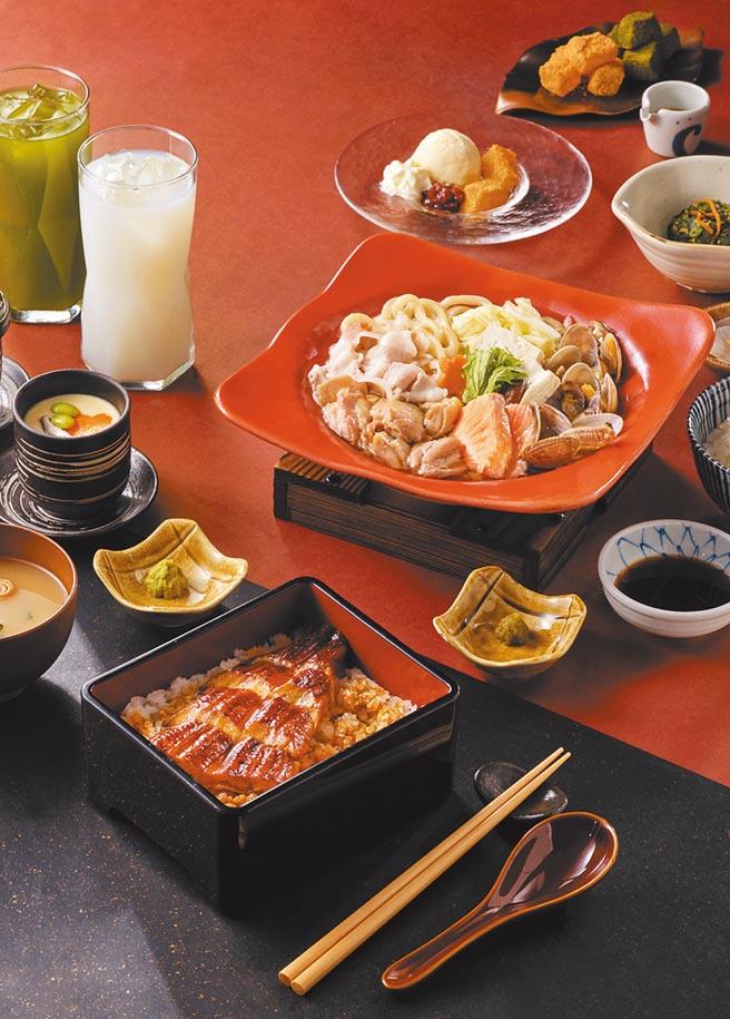 Global Mall南港車站店的彌生軒推出限定雙人套餐,原價1220元,優惠價1100元。(Global Mall提供)