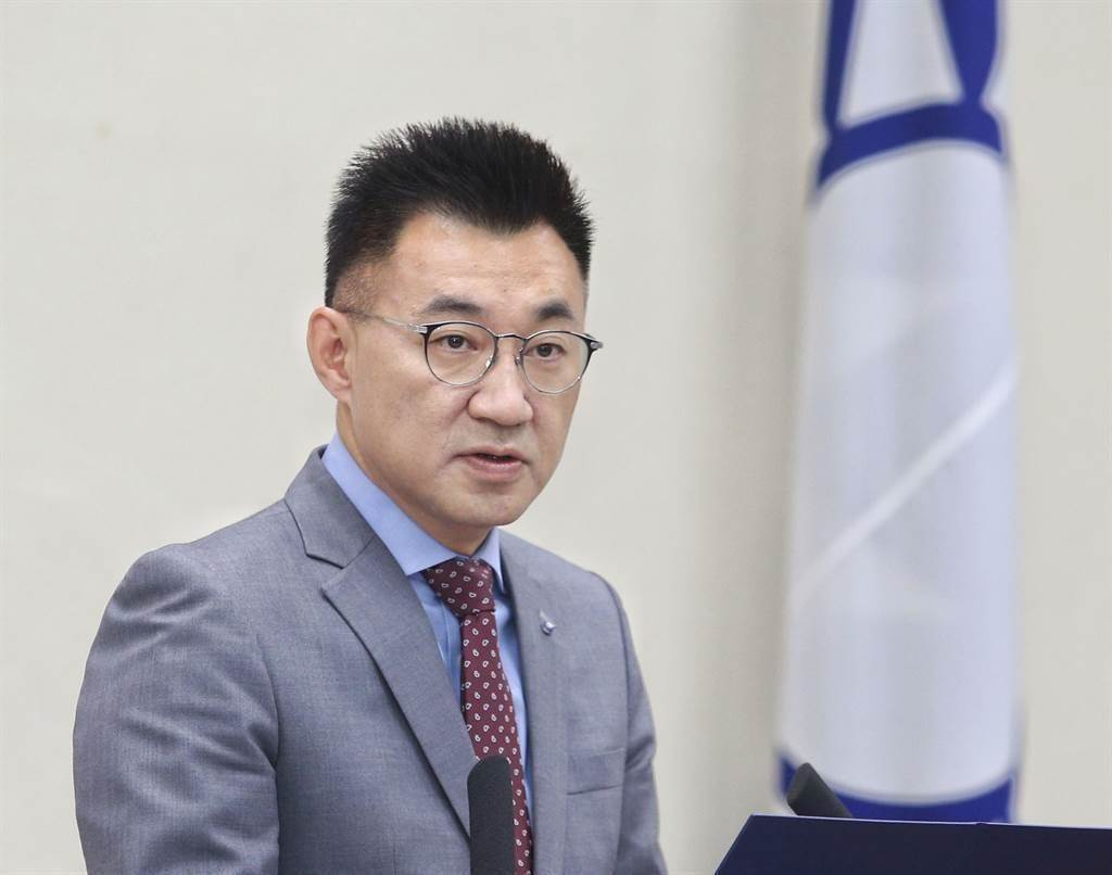 国民党主席江启臣。 (中时资料照)