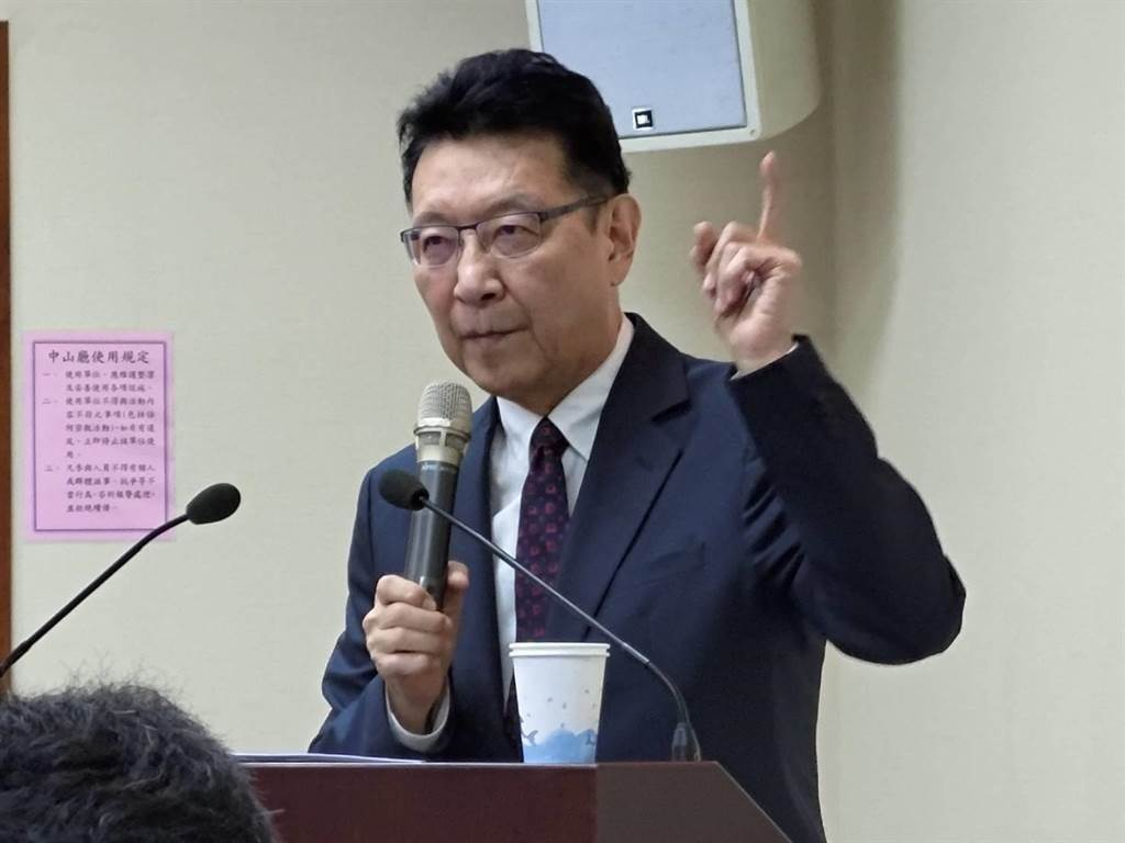 资深媒体人赵少康。 (图/本报资料照)