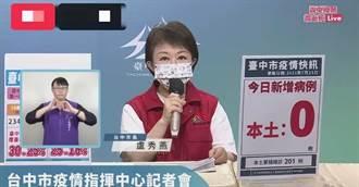 台中今日「三零」1.6萬國高中教師明、後天開打疫苗