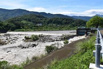 烟花颱風帶來豐沛雨量 永和山水庫進水反減緩