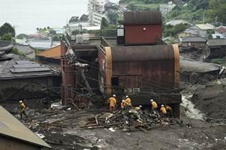 日本熱海土石流發生逾3周 累計21死8失聯