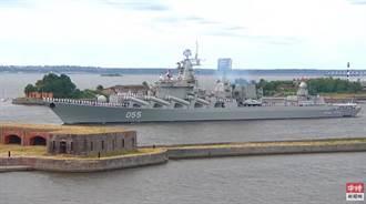 影》俄羅斯海軍成立325周年 總統普京出席海上閱兵