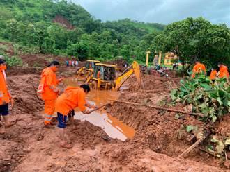 印度豪雨釀洪災及山崩 至少124死