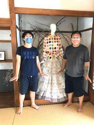 迎疫情降級 台西海口故事屋推出服裝設計師林國基創作畫展
