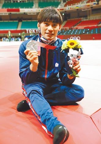 東奧》楊勇緯柔道奪銀為男選手爭口氣 我國奧運史新紀錄
