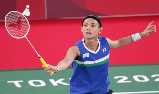 戴資穎在東京奧運出賽。(資料照 季志翔攝影)