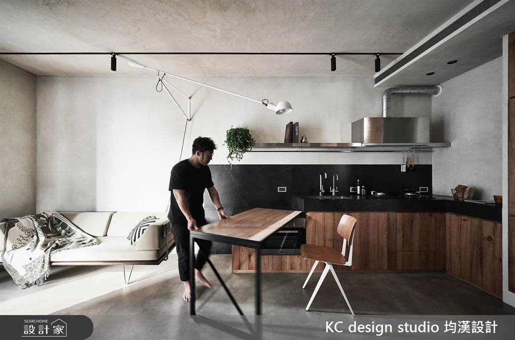 小坪數廚房設計,原來還能這樣做!7 招教你放大廚房空間,中島、收納變得超實用