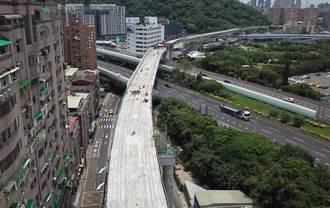 安坑輕軌高架段全線7月合龍 最快明年完工通車
