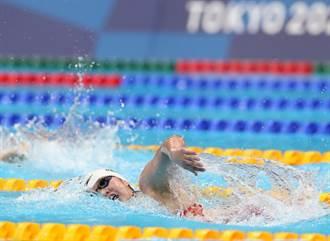 東奧》陸19歲游泳小將李冰潔二度破亞洲紀錄 拿下銅牌