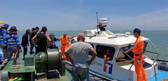 船員金門外海腹痛 海巡火速接駁上岸就醫