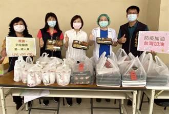 向辛苦的防疫人員致敬 中市議員及里長準備餐盒與手搖飲慰勞