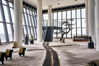 屏東看海美術館開張 首展推出春江獸月夜