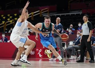 東奧》當NBA在打?東契奇狂飆48分轟垮阿根廷