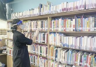 中市圖所屬44間圖書館明起有條件開放 人流總量上限50人
