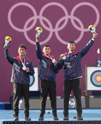 男子射箭隊摘奧運銀牌 賴清德:每一箭都射出驚呼