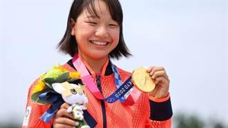 東奧》7歲學滑板 13歲西矢椛成日本最年輕奧運金牌得主